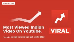 most viewed indian video on youtube